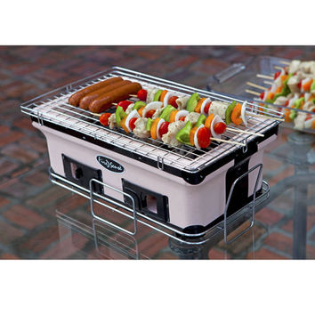HotSpot Rectangle Yakatori Charcoal Grill