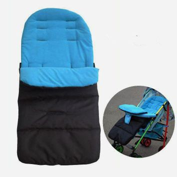 Winter Thick Warm Baby Stroller Sleeping Bag Newborn Foot Cover for Pram Wheelchair Baby Stroller Accessories Sleeping Bag