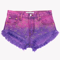 Shine Heartbreak Studded Babe Shorts