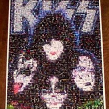Amazing KISS Rock & Roll Bands poster montage 1 of 25!!