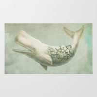 Far and Wide Area & Throw Rug by Eric Fan | Society6