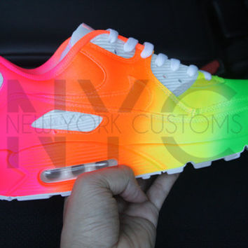 Nike Air Max 90 Neon Vibes Tie Dye Men Women Kids
