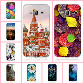 Phone Casefor Samsung Galaxy J3 2016 Case 3D Soft TPU Cover Silicon For Funda Samsung Galaxy J3 (2016) J320F  Phone Back Cover