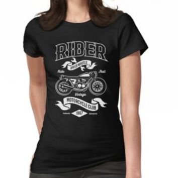 'RIDER' T-Shirt by Super3