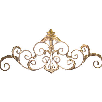 Basel Wall Accent, Antiqued Gold, Wall Sculptures