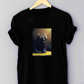 "toothless how to train your dragon - T Shirt for man shirt, woman shirt ""NP"""