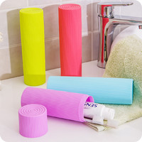 Teethbrush Cap Portable Simple Design Cup Mug Teethbrush Storage Box Brush [4918265860]
