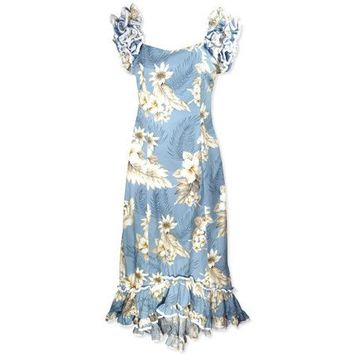 sky hawaiian meaaloha dress