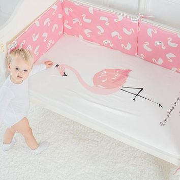 Cute!! Baby Bed Sheet, 100% Pure Cotton Crib Mattress Cover