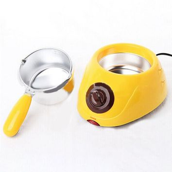 (220V) Hot Chocolate Melting Pot Electric Fondue Melter Machine DIY Kitchen Tool Gift 460818