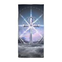 Life's Roughest Storms Refuse To Sink Beach Towel> Beach / Pool / Bath Towels> soaring anchor designs