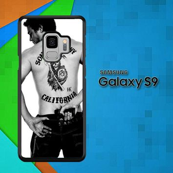 Paul Walker Sons Of Anarchy Tatto Z1499 Samsung Galaxy S9 Case