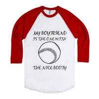 Baseball girlfriend tee
