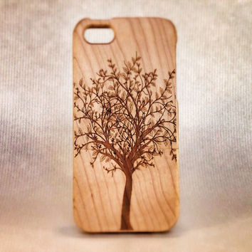 Eco Friendly Wooden Case for iPhone 5 and 5S -Tree of Life-