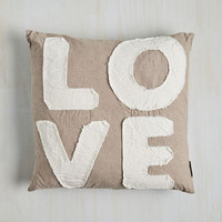 Boho Darling Devotion Pillow in Love by ModCloth