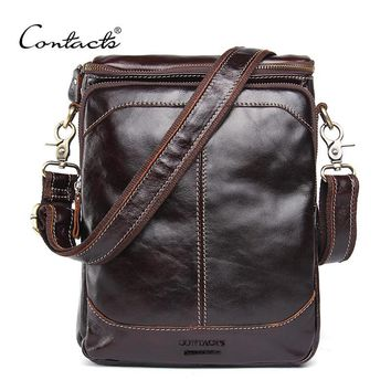HOT!! Men's Genuine Leather Cross body/ Shoulder Messenger Bags
