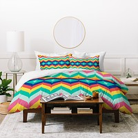 Juliana Curi Chevron 5 Duvet Cover