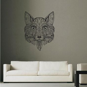 ik2953 Wall Decal Sticker animal fox living room bedroom