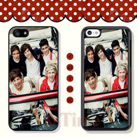 One Direction, iPhone 5 case iPhone 5c case iPhone 5s case iPhone 4 case iPhone 4s case, Samsung Galaxy S3 \S4 Case, Phone case --X50980