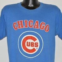 80s Chicago Cubs t-shirt Extra Large