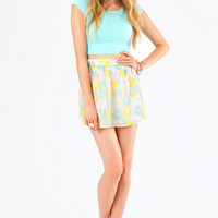 Daisy Crazed Sequin Skirt $33
