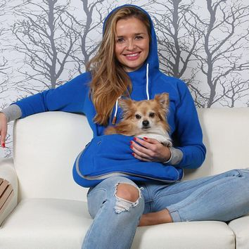 Paw Baby Pouch Hoodie Sweater