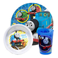 Thomas the Train Toddler Dining Set - Plate, Bowl, Cup