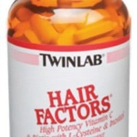 Twinlab Hair Factors, 100 Tablets (Pack of 2)