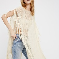 Free People Without Borders Crochet Kaftan