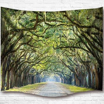 Tree Overhang Tapestry