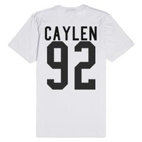 Jc Caylen-Unisex White T-Shirt