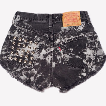 Vintage Levis One of A Kind Studded Shorts