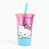 Hello Kitty 15oz Acrylic Tumbler: Stars