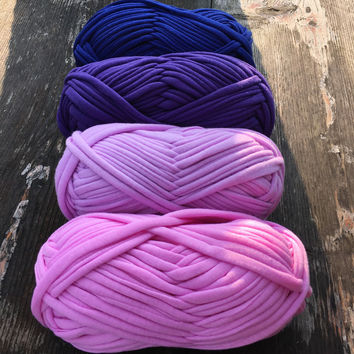 100g pc New Fancy Yarns For Hand Knitting Thick Thread Crochet Candy-colored Cloth Yarn Ribbon Hand-knit Wool Hat Yarn Craft