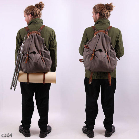 swedish army 30s backpack external from betaporhomme on etsy