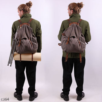 Swedish Army 30s Backpack / External Frame Rucksack