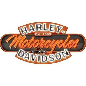 Harley-Davidson Motorcycles Neon Bar Sign