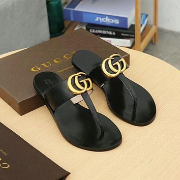 GUCCI Fashion Women's Casual Sandals F