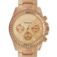Style&co. Watch, Women's Gold-Tone Bracelet SC1284