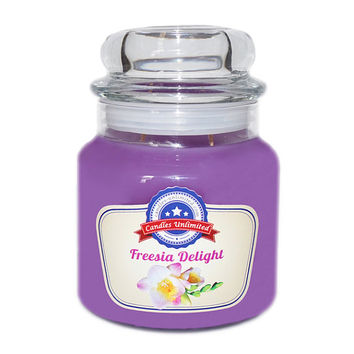 Freesia Delight - Soy Blend Container Scented Candles