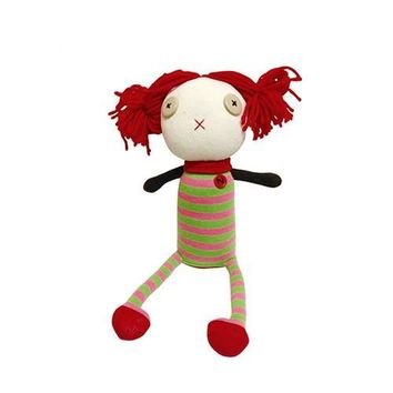 Nissy with the Red Hair Plush Sock Doll