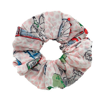 London Spots Scrunchie | London Prints | CathKidston