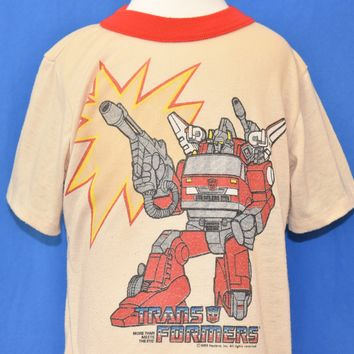 80s Transformers Optimus Prime t-shirt Toddler 4T