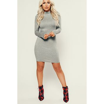 Forever Friends Bodycon (Heather Grey)