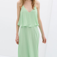MAXI DRESS WITH LOW-CUT BACK