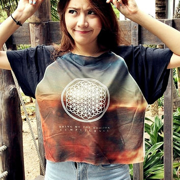 Bring Me the Horizon Women & Girl Shirt T-Shirt Chic Style Summer Fashion