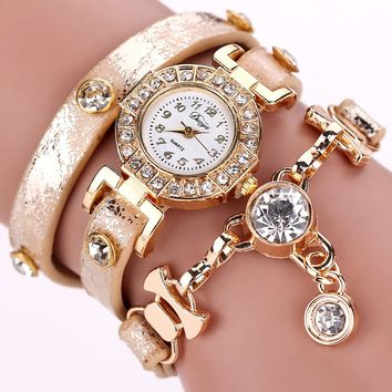 Adorable Rhinestone Bracelet Watches You'll Love @SheShopper.com