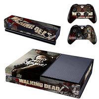 Vanknight Vinyl Decal Skin Sticker Cover The Walking Dead Daryl Dixon for Xbox One Console Kinect 2 Controllers