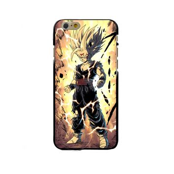 Japanese Cartoons Anime Series Dragon Ball Z Durable Style Hard Cover Case For Apple iPhone 8 X 4 4G 4S 5 5G 5S 5C 6 6S 7 Plus