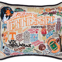 University of Tennessee Embroidered Pillow
